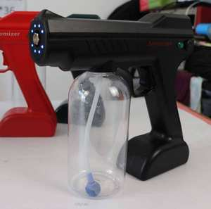 2020 New product portable handheld blue light handheld disinfection spray gun