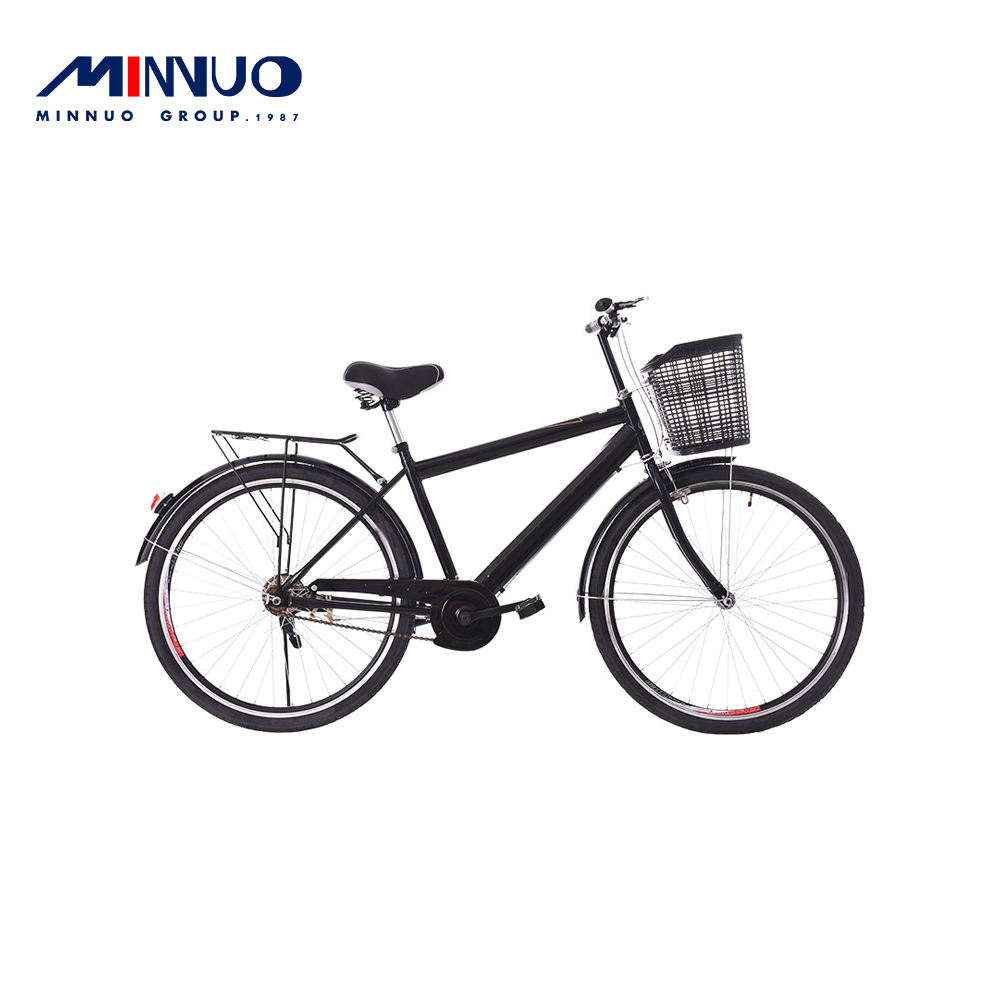 Japanese folding bicycle second-hand bicycle straight retro city stainless steel bicycle