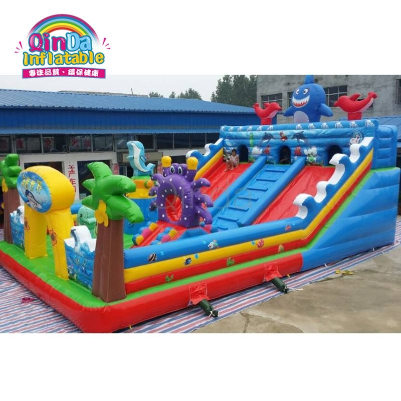 Commercial Inflatable amusement park, inflatable adult bouncy castle prices