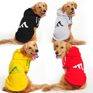 New Autumn Winter Pet, Clothes Golden Retriever Hoodie Large Medium Sized Dog Cloth//