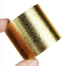 Glitter powder film non-adhesive wrapping tape