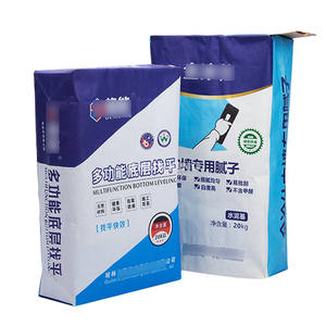 25kg 20kg 50kg Multiwall Kraft paper valve bag sack for cement