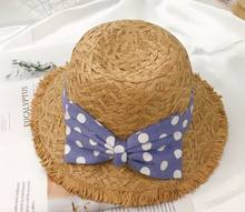 wholesale summer hat kids baby girl hats toddler straw lovely hats
