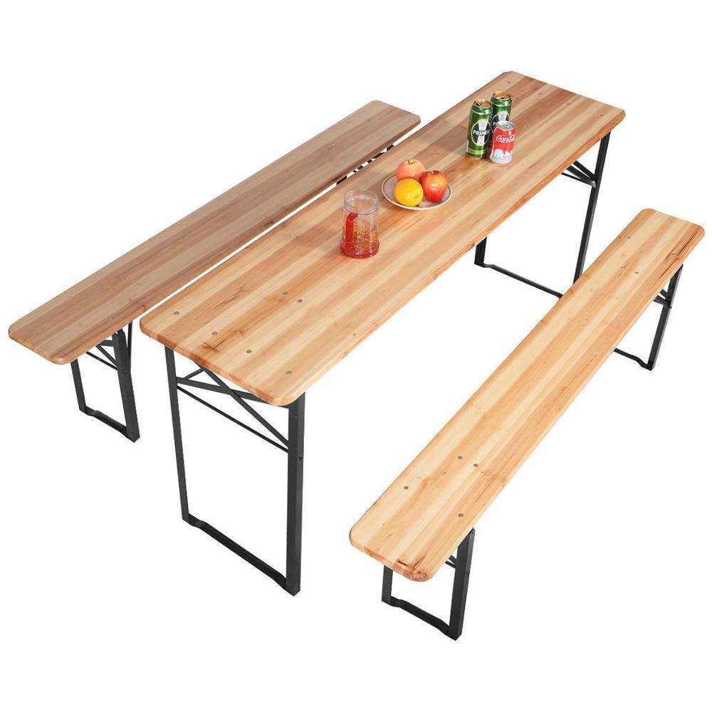 3 PCS Beer Table Bench Set
