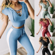 Yolife womens tracksuit New Tracksuit For Women Yoga Suit eco friendly yoga clothing shark fitness crossfit apparel