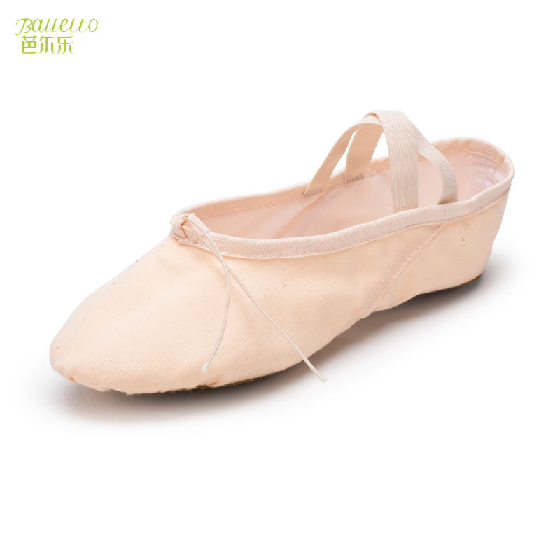 2019 Hot Selling High Elasticity Soft Ballet Dance Shoes For Girls