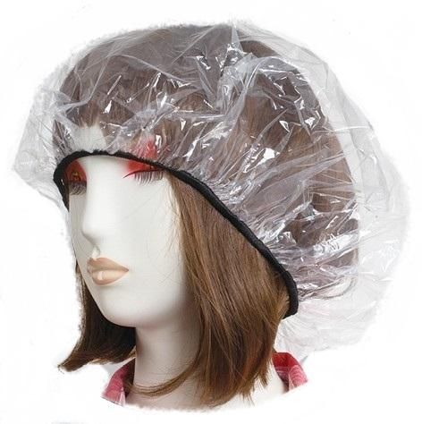 waterproof pe rain bonnet/hood/hats/caps cover