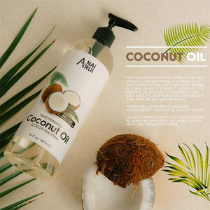 Factory Price Organic Coconut Oil For Aromatherapy Relaxing Massage Essential Oils Hair and Skin Care face Coconut Oil