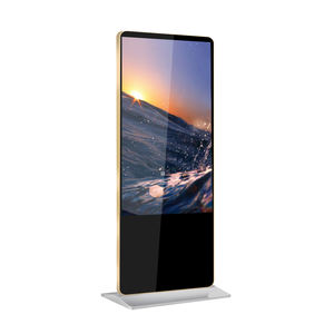43 inch floor stand advertising player kiosk vertical digital signage