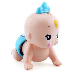 Electric music crawling doll baby toy musical baby toys