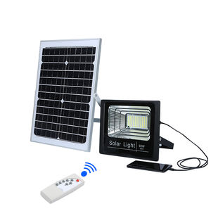 Hot selling waterproof ip66 outdoor 50 100 watts 12 volt solar led flood lights