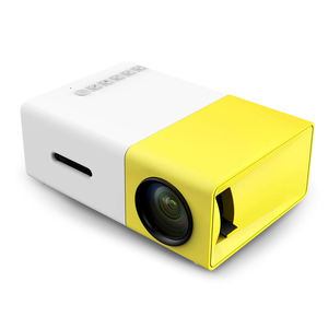Home Mini Led Portatile Smart Pocket Cinema Video Proiettore YG300 prodotti Caldi di vendita