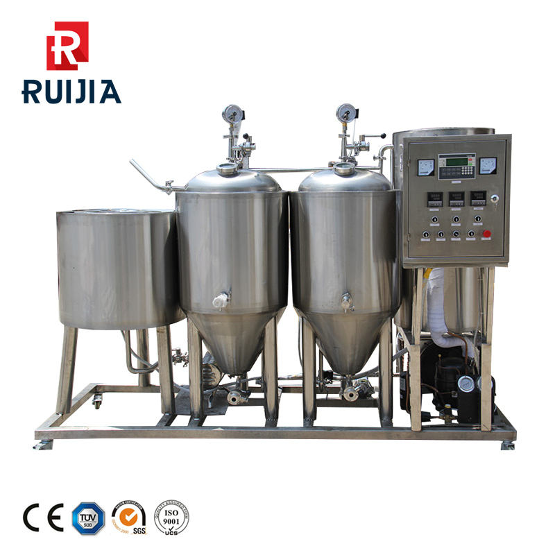 10HL Steam heating brewery brewing system used gas/oil en, Most popular beer equipment and sus 304 materials mash and brew tanks
