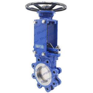 Bundor Class 150 WCB Outside Stem Lug Knife Gate Valve