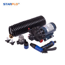 STARFLO 70PSI 20LPM wholesale car washer similar to shurflo high flow washdown pump