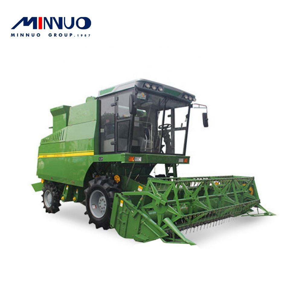China 2020 new design good material soybean harvester with extra service