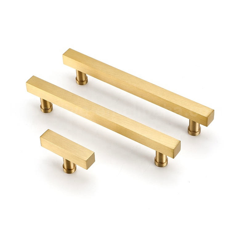 KOPPALIVE europe style design furniture copper hardware cabinet door pull brass handles and knobs