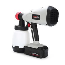 Portable Hand Held Battery Power Wireless Electric High Atomization Hvlp Professional Auto Paint Spray Gun
