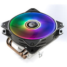 SATE- Computer Case Processor Heat Pipe CPU Cooler 4 Heat Pipe Cooling for  RGB fan  CC500