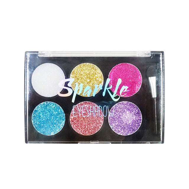 Wholesale Factory direct sale beautiful glitter cream eye shadow