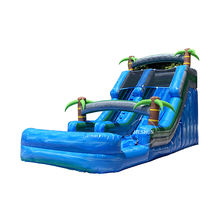 2020 outside inflatable games inflatable floating water slide inflatable waterslide for fun