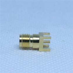 SMA female 27GHz microstrip PCB connector