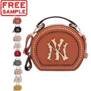 FREE SAMPLE lady NY shoulder Bag Set Designer Fashion Brand Luxury PU NY Handbag for Women jelly Crossbody hand bag NY Purse Set
