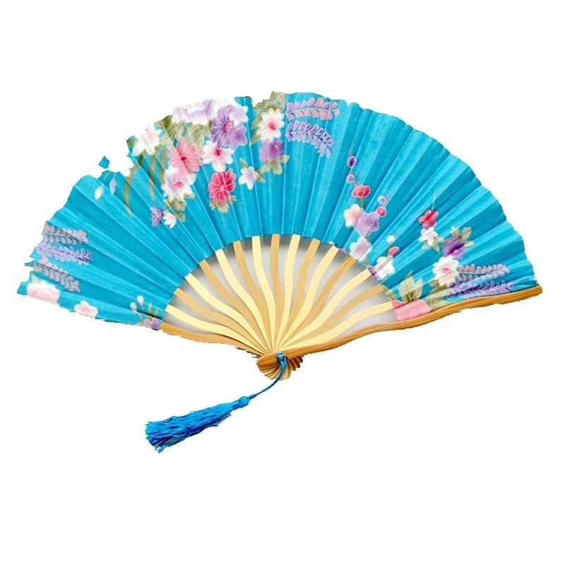 Spanish Wooden Ribs Hand Craft Fan