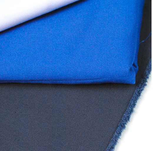 T/C antimicrobial twill blue dyed medical doctor uniform fabric