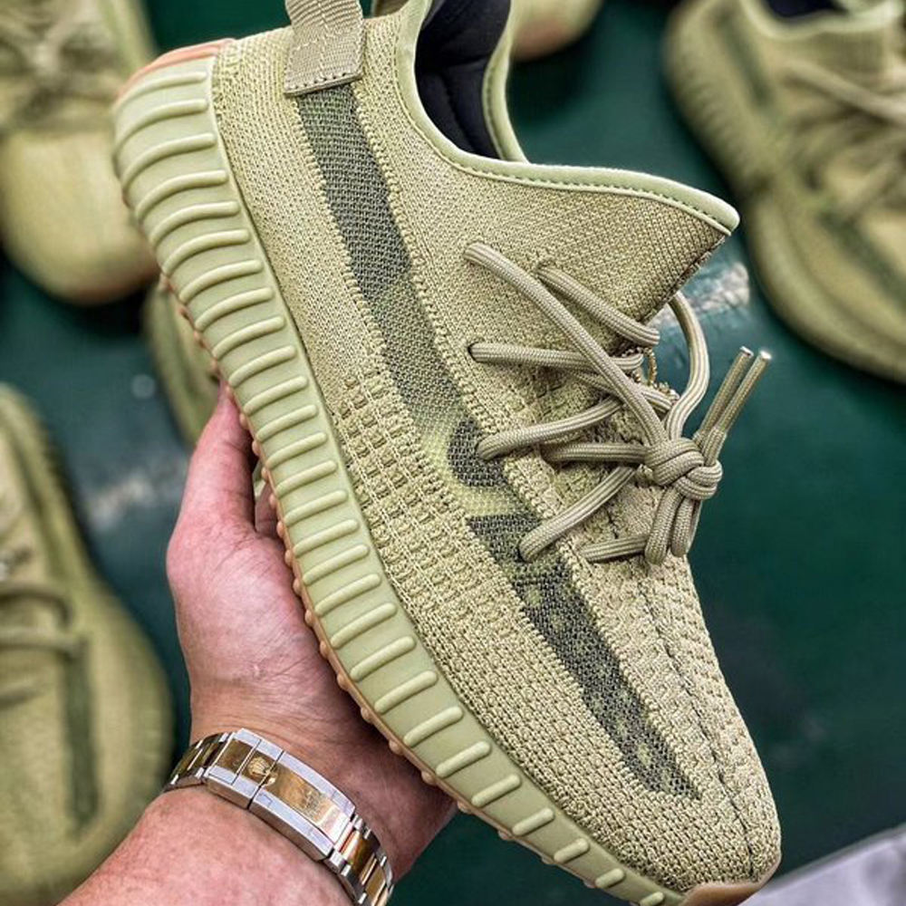 High Quality Best Seller Sneaker Shoes Running Yeezy 350 v2 SULFUR Shoes FY5346