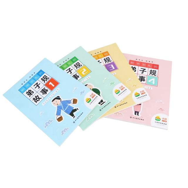 printing softcover children comic book