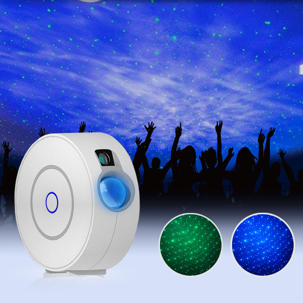 Night Light Star Projector with Voice Control, Smart WIFI Bluetooth Projector with LED Nebula Cloud, Group Control, Sharing