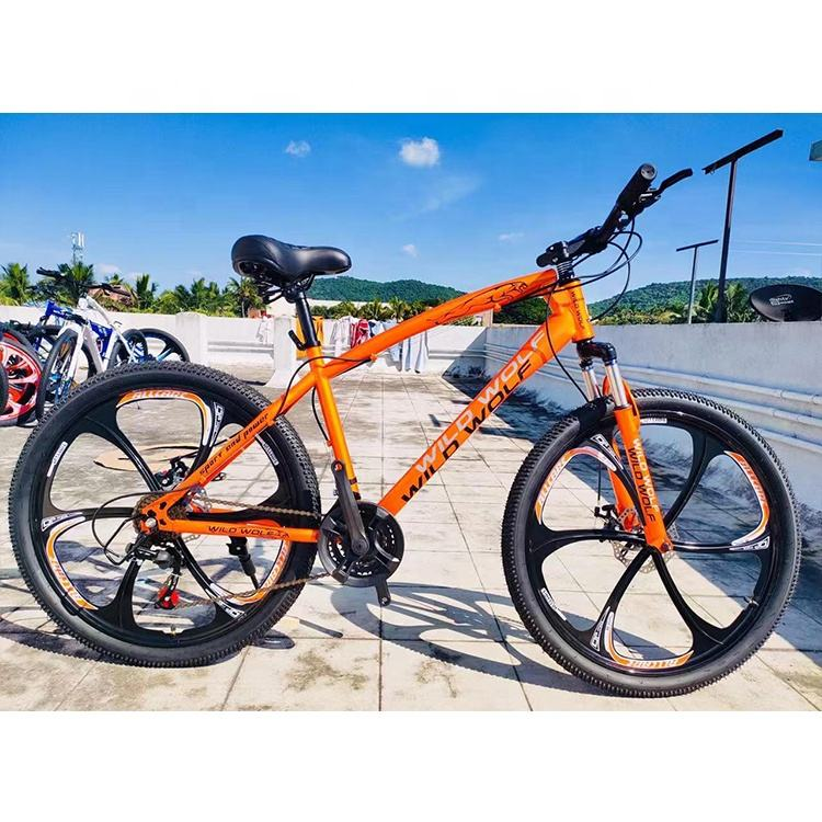 21speed steel bicycles 26 Inch suspension MTB double disc brake mountain bicycle bike