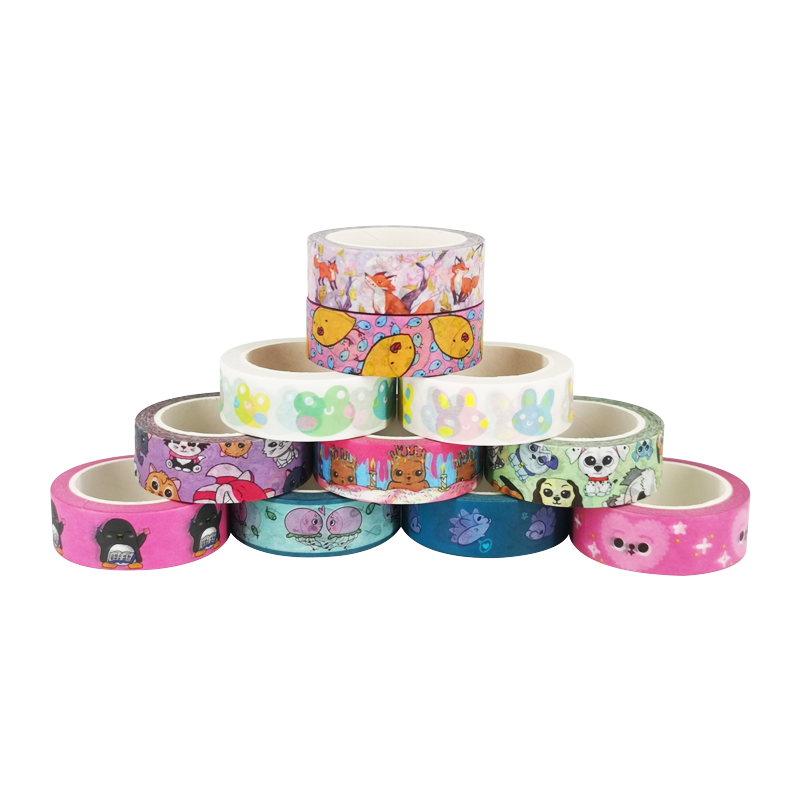 Wholesale Waterproof Japanese Washi Masking Scrapbooking Crafts Paper Tape