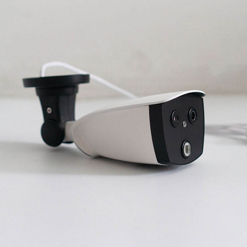 Face Recognition [ Bullet Camera ] Body Temperature Measurement System Bullet Type Thermal IP Camera