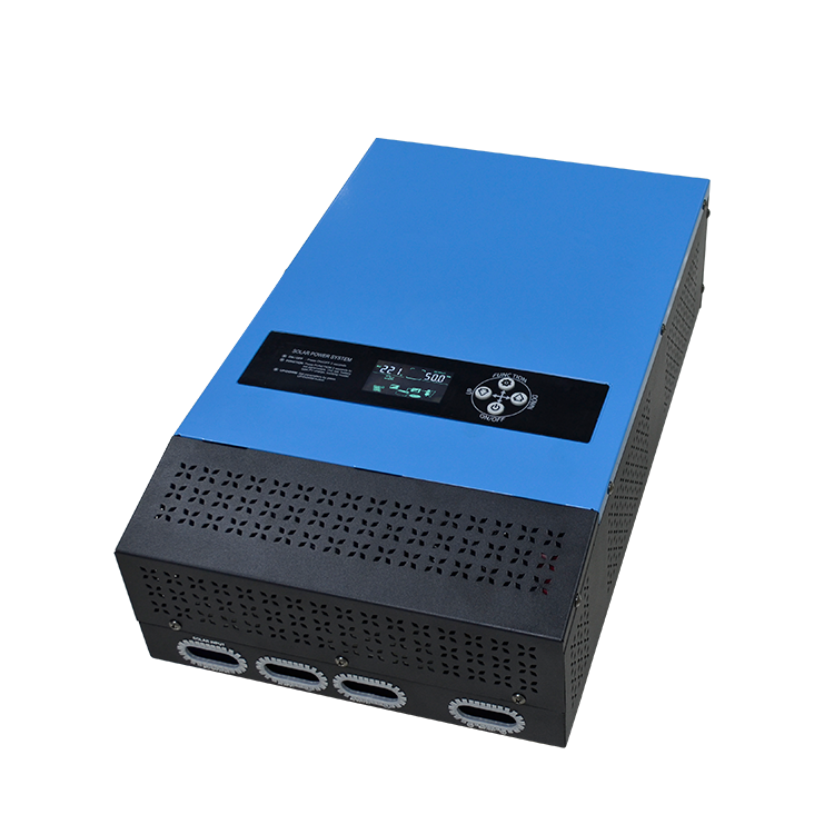 1kw 2kw 3kw 4kw 5kw 6kw Single Phase Hybrid Pure Sine Wave Inverter Solar Power System