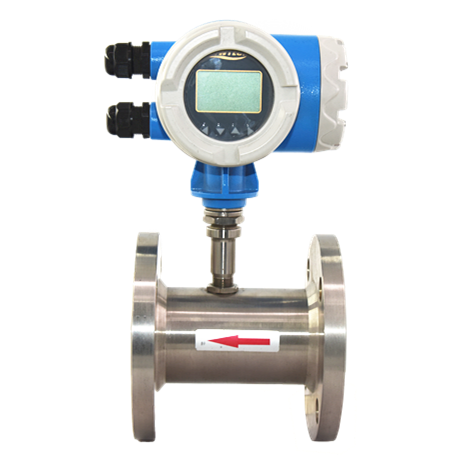 Milk Flowmeter High Pressure Electronic Digital Propel Pulser Diesel Fuel Type Flange Liquid Oil Milk Beer Turbine Flow Meter Flowmeter