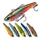 WEIHE 70mm 7g Vib Fishing Lure with 3D Eyes Crank baits Set Fishing Hard Baits Swim baits Boat Top water Lures