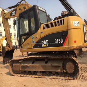 Used excavator caterpillar digger 315D hydraulic pump cat mini crawler excavator on sale