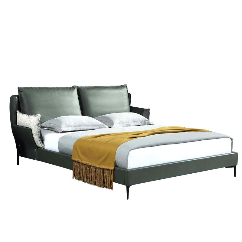 China Dongguan Hot Sale Double Size Bed Wood Double