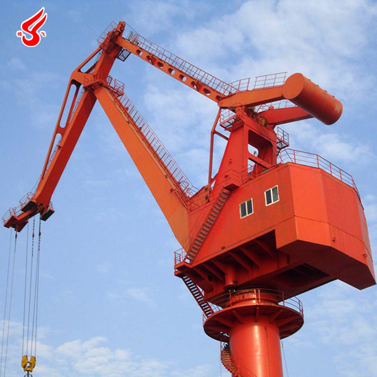 MQ Model Four Link Jib Type Container Portal Crane For Ship Load And Unload