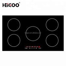 OEM/ODM supplier of home appliances built in commercial electrical induction cooker hob with 5 burners