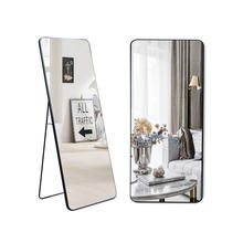 "65""x22"" Large Rectangle Wall Mirror Hanging Leaning Against Wall Dressing Decorative Full Length Floor Mirror"