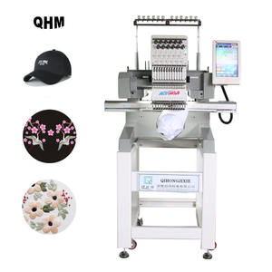 2020 single head 12/15 needle computerized embroidery machine price brother embroidery machine quality for bead embroidery