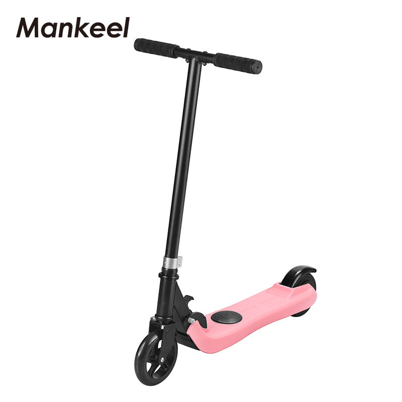 Mankeel pink electric scooter for kids shipment from EU warehouse electric kids scooter hot selling kids 2 wheel scooter