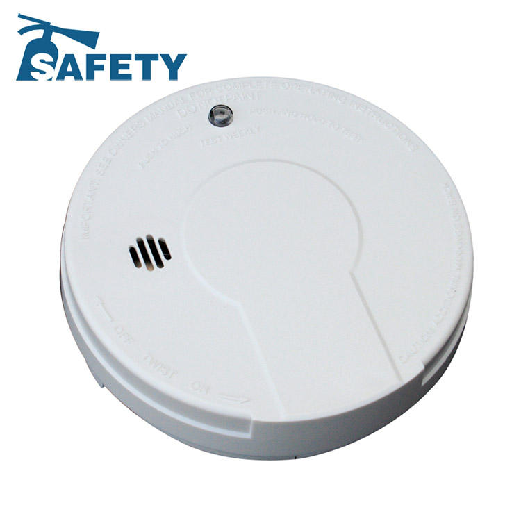 smoke detector en14604/extinguish system/sms wireless smoke detector system