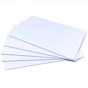 HUAYAUN 4 Byte UID or 7 Byte UID 13.56MHz Blank White Smart MIFARE Classic 1K 4K PVC RFID Card
