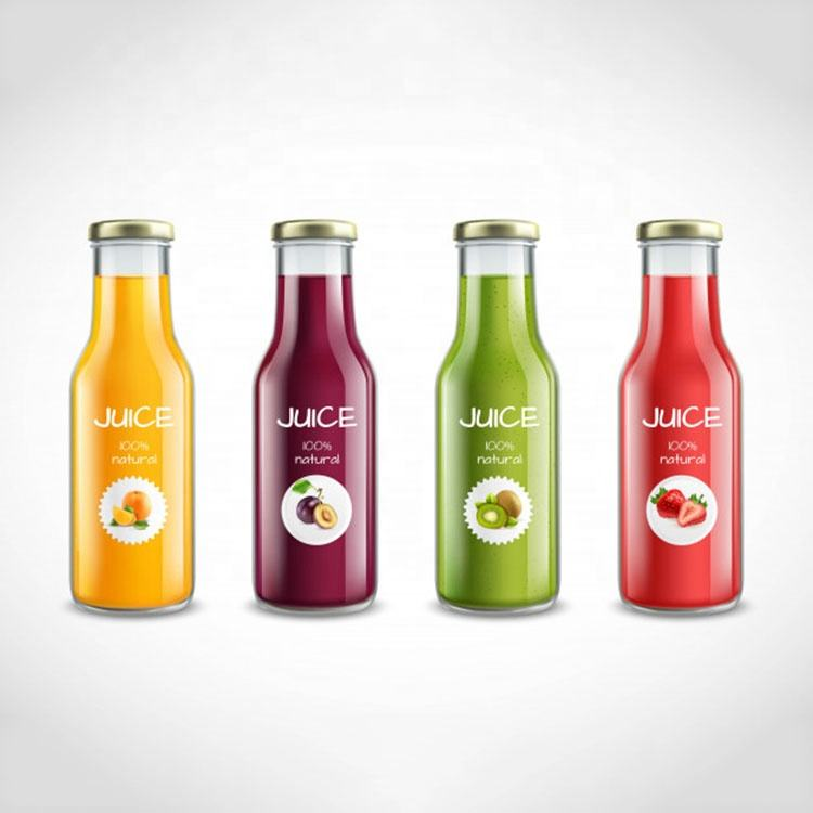 High Quality Wholesale Glass Juice Bottle For Beverage