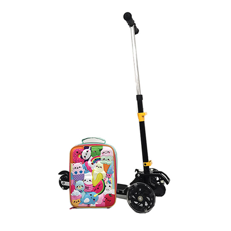 New Arrival OEM Detachable 19 Inch Kids School Kick Scooter with 10 Inch Lunch Bag