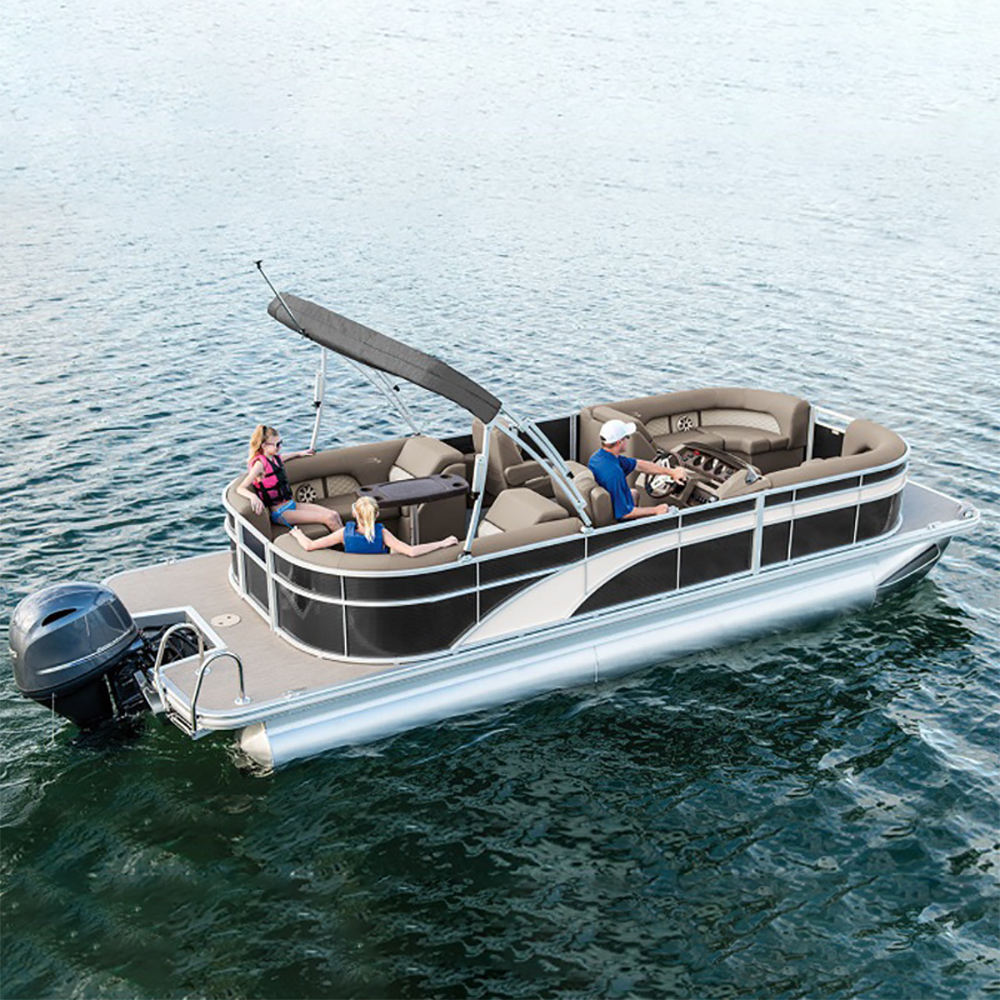 New Best Luxury Aluminum Pontoon Boats For Party and Family For Sale